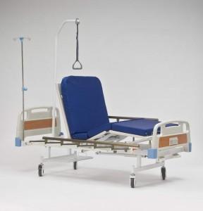 Кровать функциональная механическая 4-х секционная Armed с принадлежностями